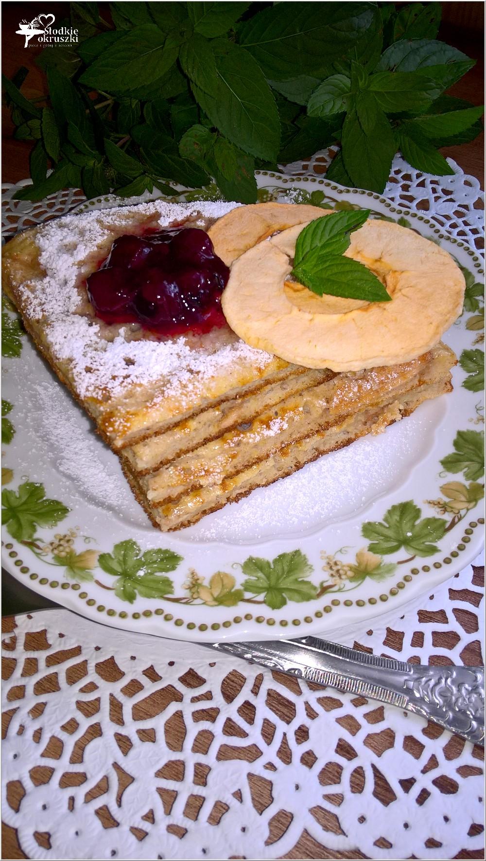 Cynamonowy omlet z jabłuszkiem (1)