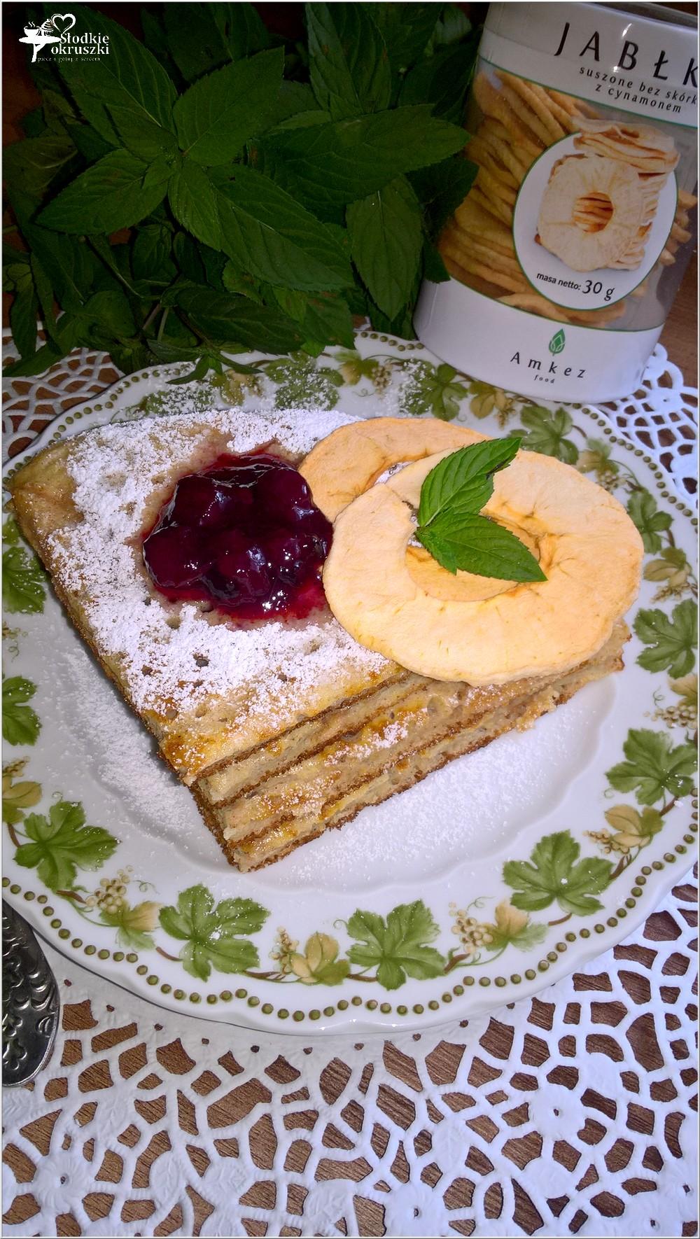 Cynamonowy omlet z jabłuszkiem (2)