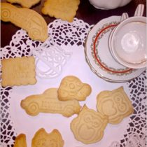Delikatnie pomarańczowe ciasteczka i KONKURS z Protonik (1)