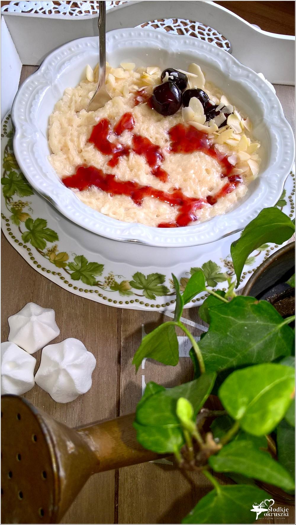 Kokosowy a la pudding ryżowy (1)