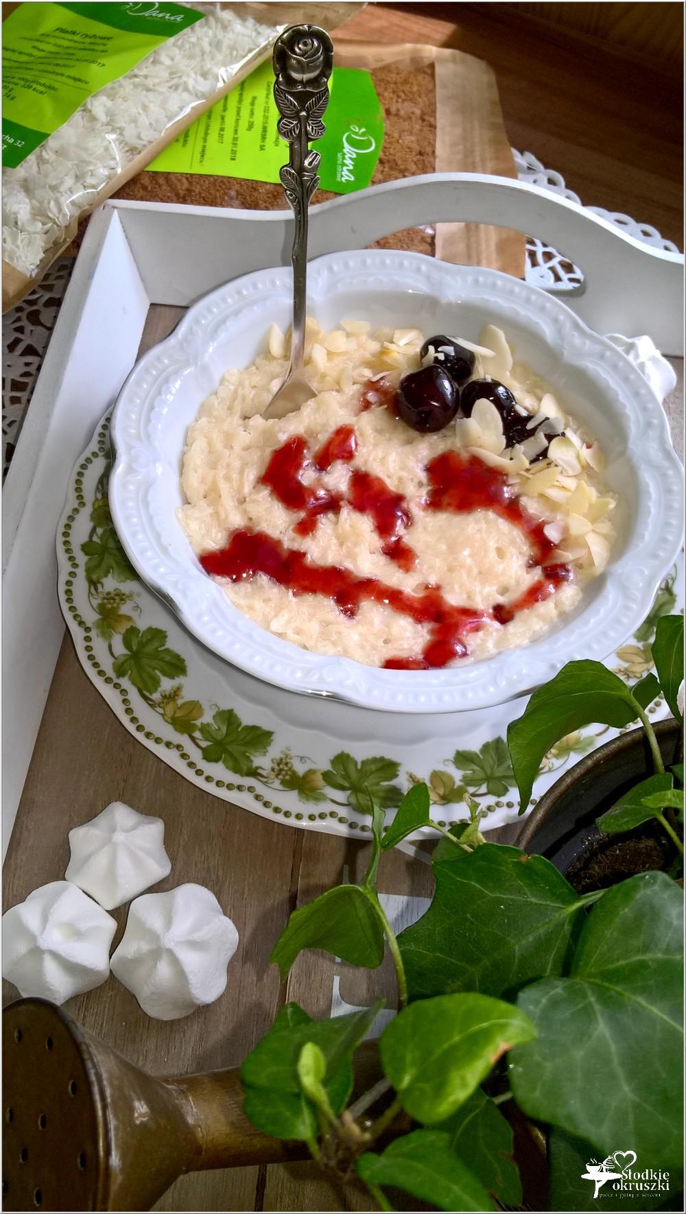 Kokosowy a la pudding ryżowy (3)