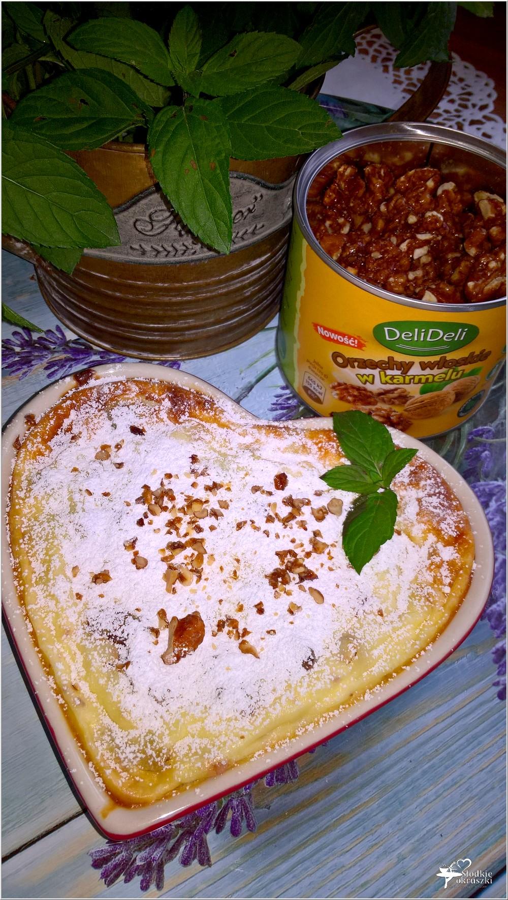 Pieczony serniczek z orzechami włoskimi i kandyzowaną skórką (5)