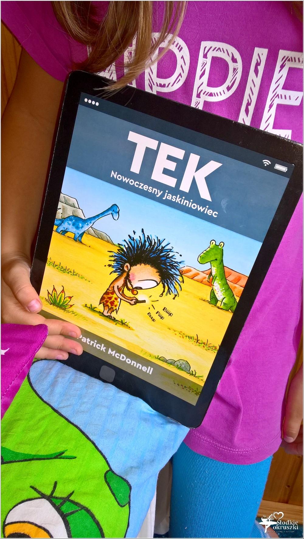 Polecam! TEK Nowoczesny jaskiniowiec. Książka dla dzieci (1)