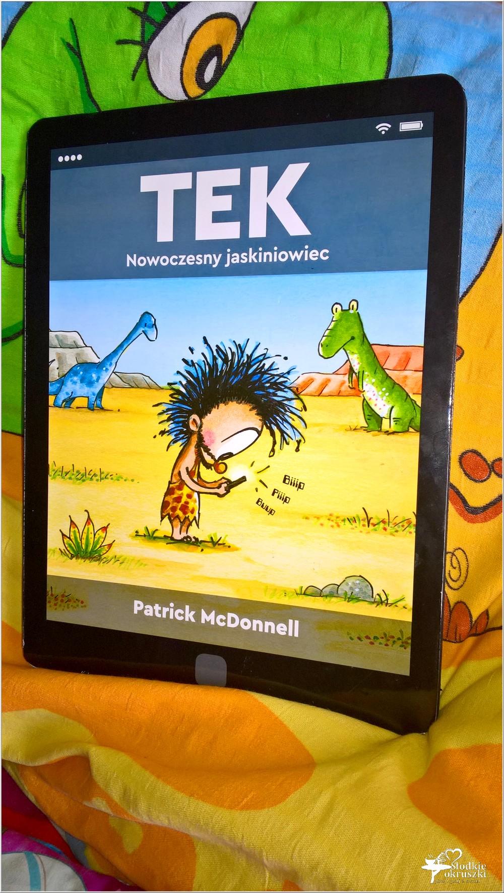 Polecam! TEK Nowoczesny jaskiniowiec. Książka dla dzieci (2)