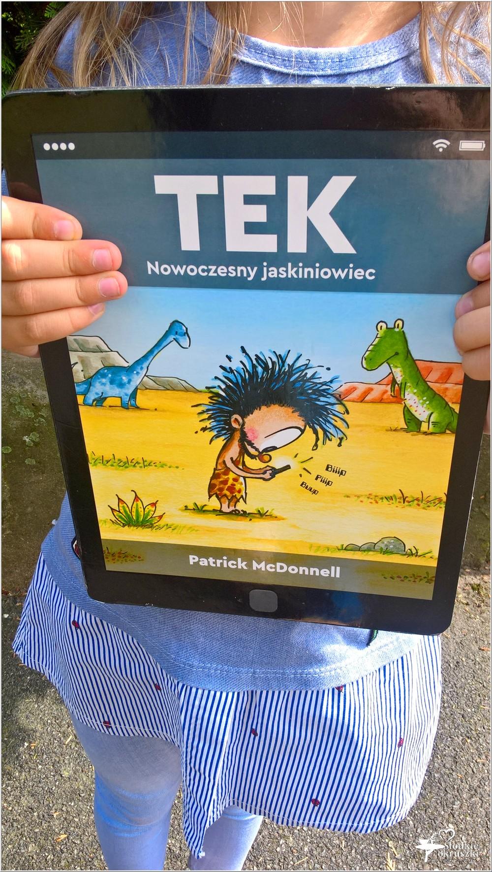 Polecam! TEK Nowoczesny jaskiniowiec. Książka dla dzieci (3)