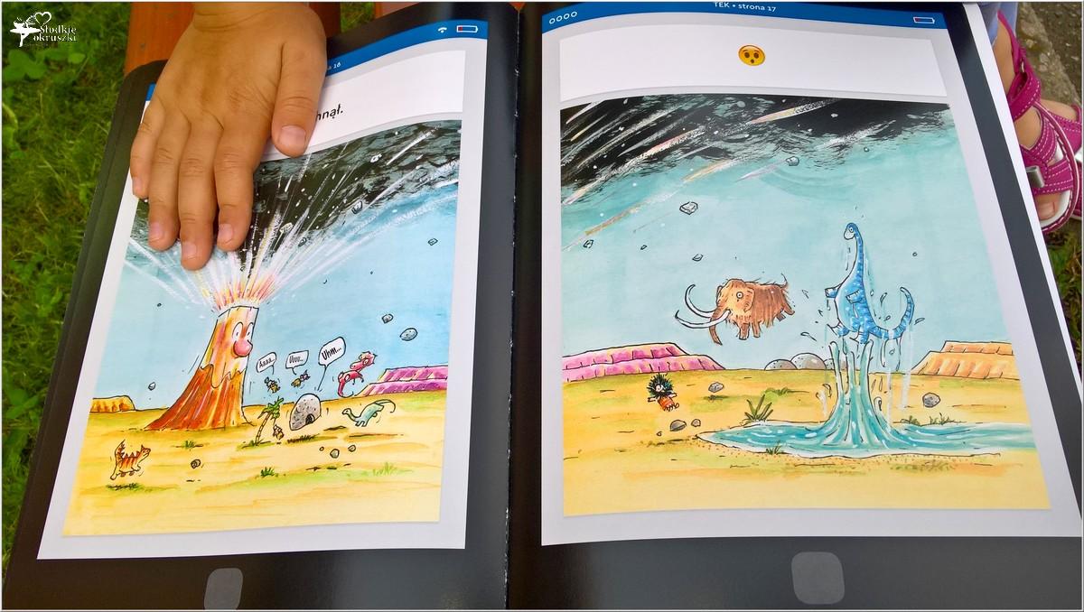 Polecam! TEK Nowoczesny jaskiniowiec. Książka dla dzieci (5)