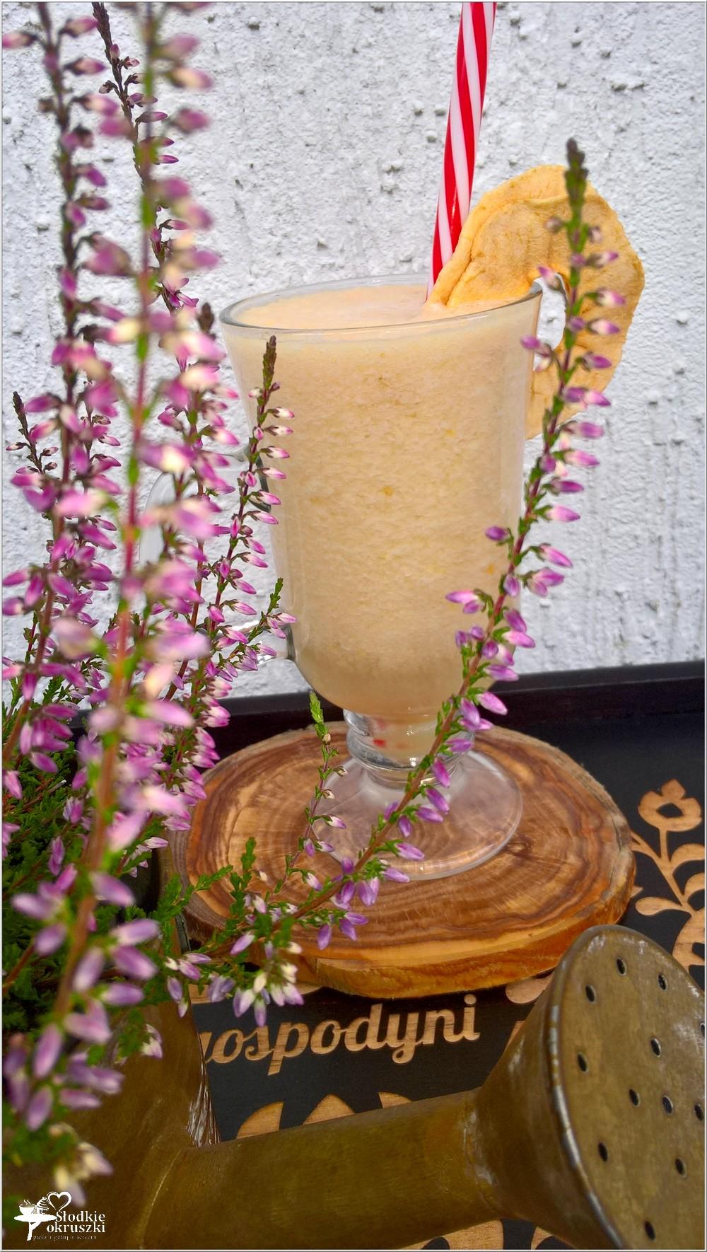 Jabłkowo-gruszkowe smoothie na wodzie kokosowej (1)