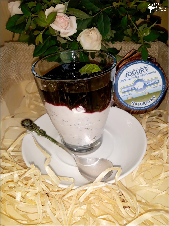 Pudding chia na jogurcie owczym od Owcza Kraina (1)