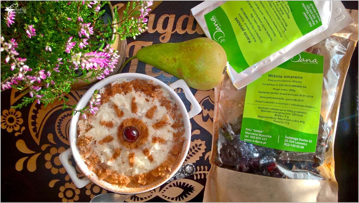 Zapiekany pudding ryżowy z gruszką i cynamonem (5)