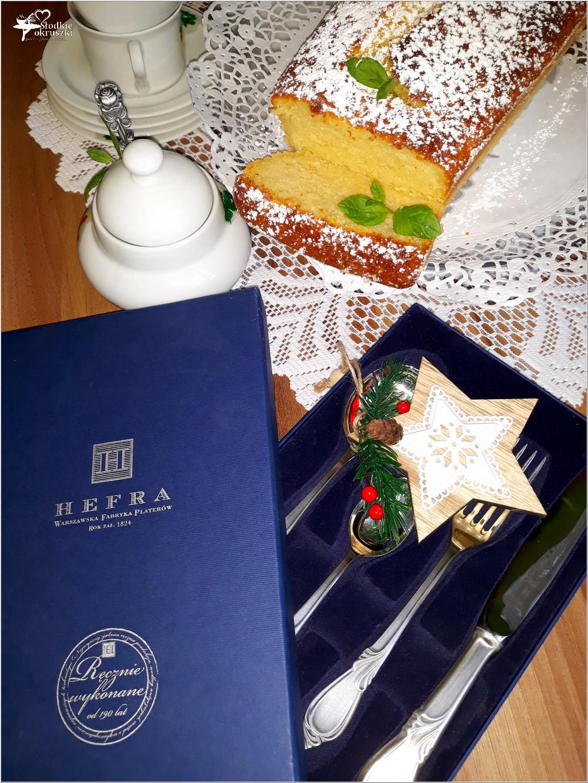 Babka serowa i stylowe pomysły na świąteczny prezent (2)