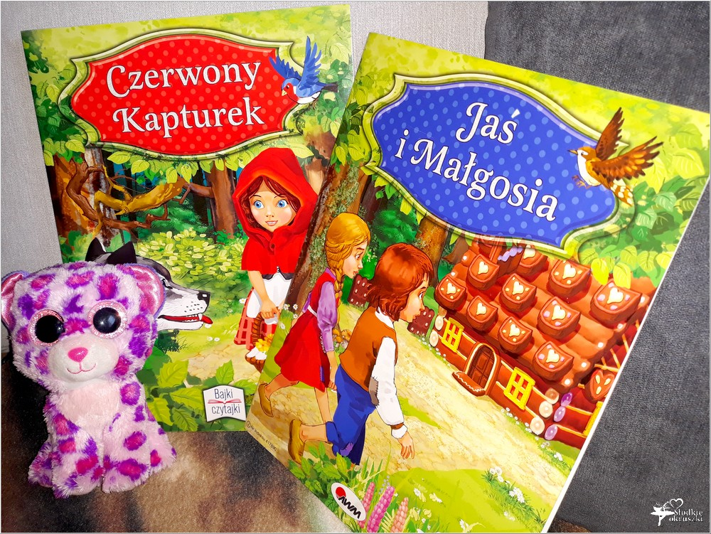 Bajki dla dzieci. Jaś i Małgosia, Czerwony Kapturek. Wyd. AWM (1)