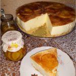 Delikatny pomarańczowo cytrynowy sernik