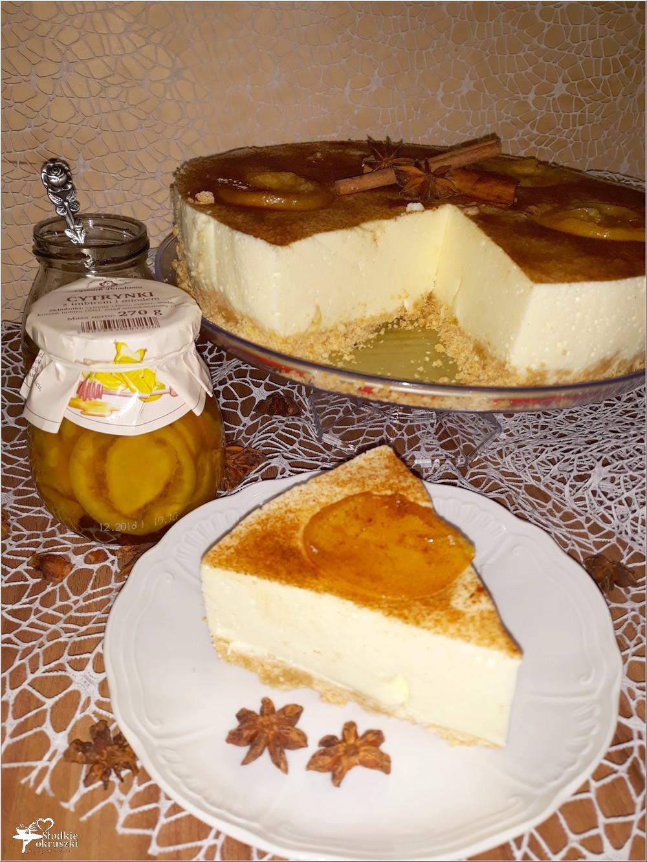 Delikatny pomarańczowo-cytrynowy sernik (6)
