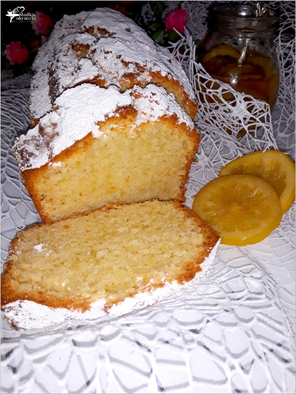 Ekspresowe ciasto jogurtowe z miętowymi cytrynkami (bez miksera) (5)