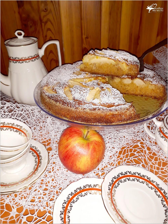 Korzenno miodowe ciasto jabłkowe (3)