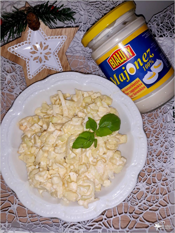 Szybka sałatka z pora (2)
