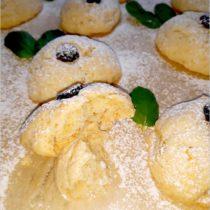 Bananowe ciasteczka z żurawinowym oczkiem (1)