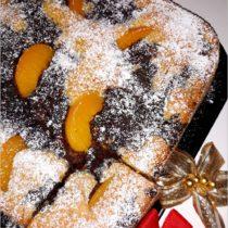 Ciasto z brzoskwiniami i masą makową (1)