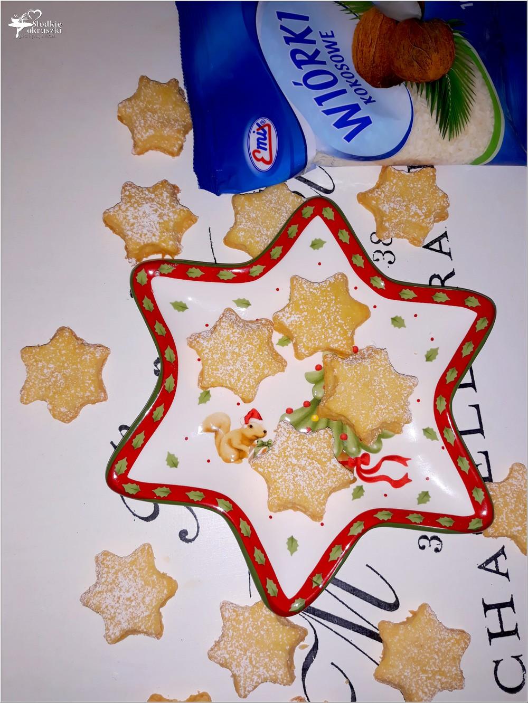 Kokosowe gwiazdeczki (ciasteczka) (2)