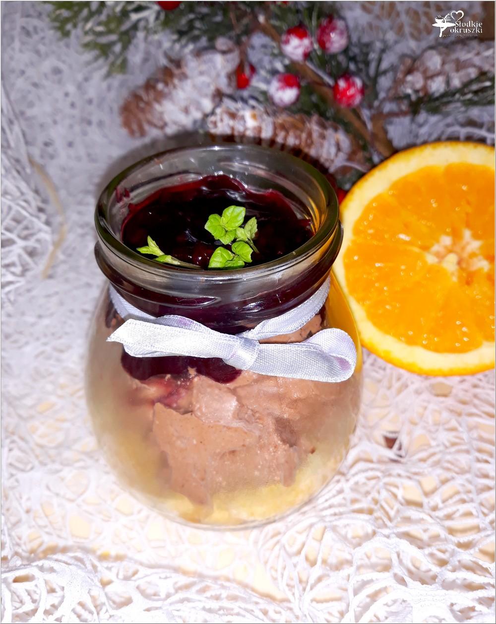 Piernikowy krem z świąteczną porzeczką (1)