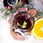 Piernikowy krem z świąteczną porzeczką