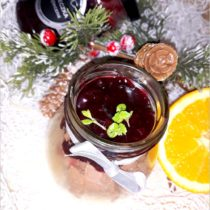 Piernikowy krem z świąteczną porzeczką (2)
