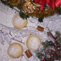 Pomarańczowe muffinki z krówką (1)