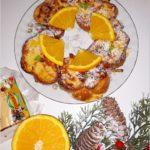 Waniliowa chałka z pomarańczą we francuskim stylu
