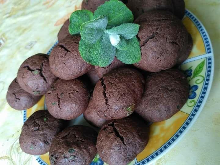 ciasteczka miętowe