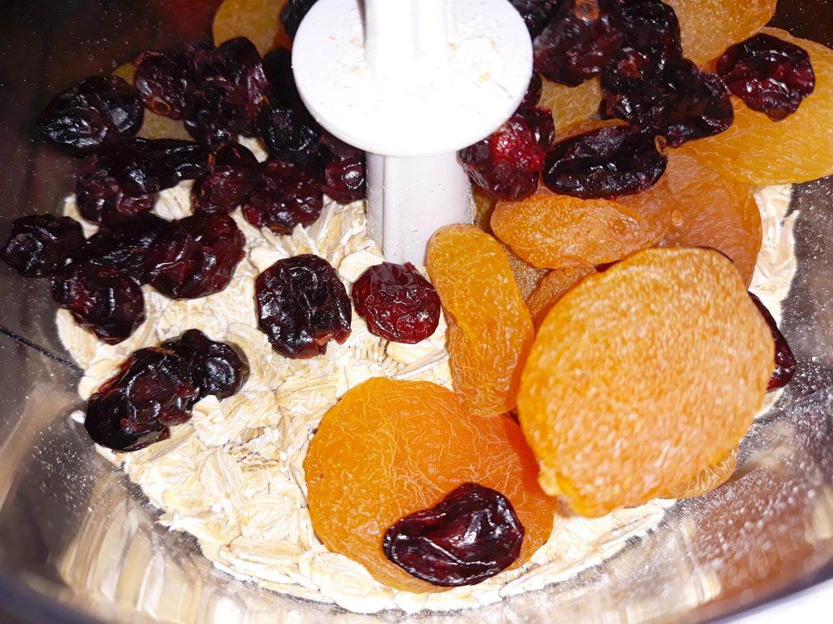 Etap przygotowań - ciasteczka owsiane (1)