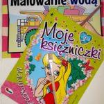 Jak spędzić czas z dziećmi w deszczowy dzień? Książeczki z serii: Malowanie wodą Wyd. AWM