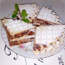 Kakaowe wafelki (z podpłomyków) (1)