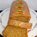 Korzenne ciasto pomarańczowe