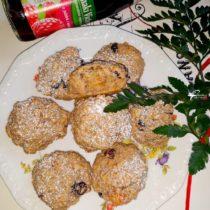 Owsiane ciasteczka na soku jabłkowo-malinowym 1