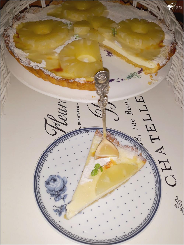 Tarta z twarożkiem oberlandzkim i ananasem (5)