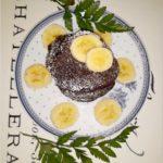 Zdrowe czekoladowe placuszki z mąki konopnej