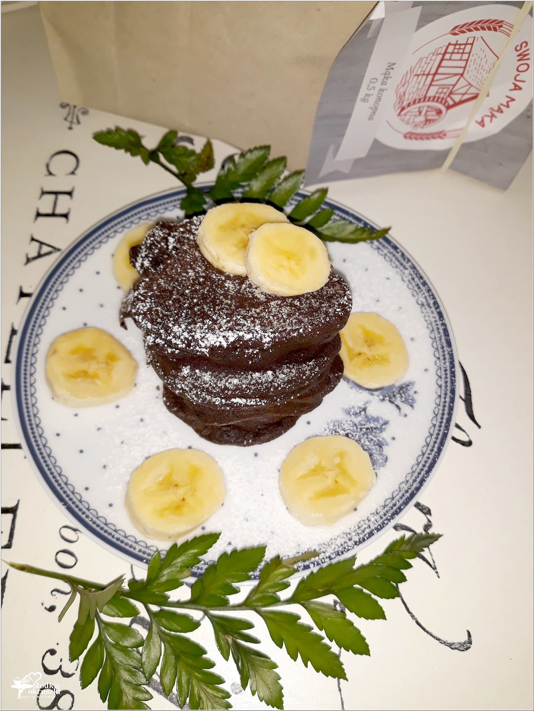 Zdrowe czekoladowe placuszki z mąki konopnej (3)