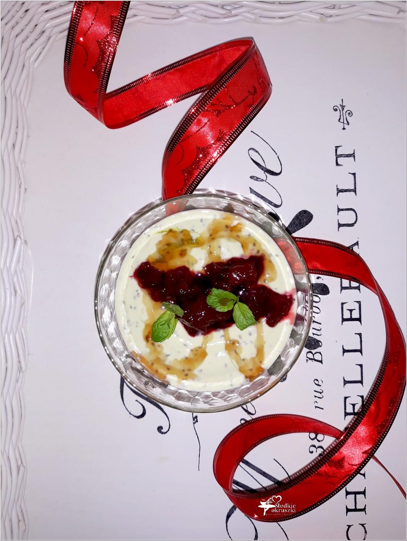 Zdrowy matcha deser z chia (1)