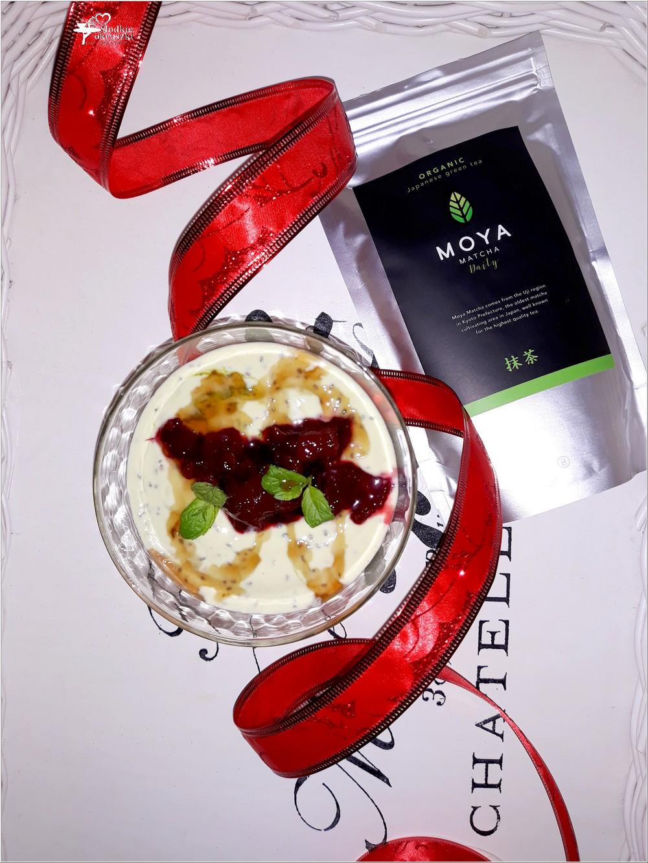 Zdrowy matcha deser z chia (2)