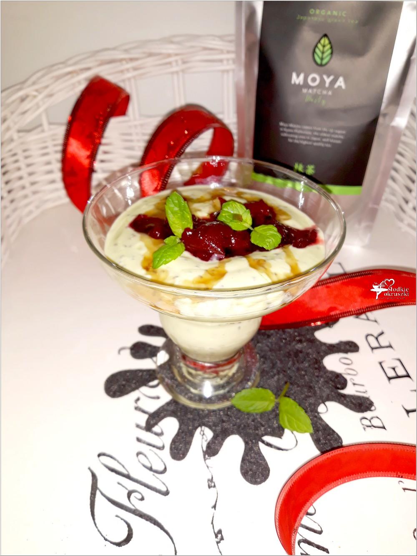 Zdrowy matcha deser z chia (3)
