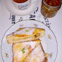 Bananowe tosty we francuskim stylu (na słodko) (1)