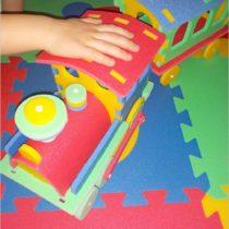 Kolorowe i bezpieczne zabawki dla najmłodszych (z pianki polietylenowej) (1)