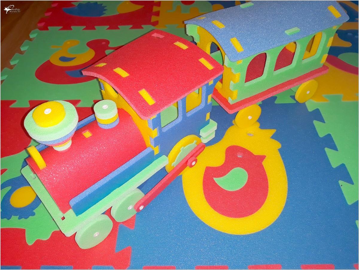 Kolorowe i bezpieczne zabawki dla najmłodszych (z pianki polietylenowej) (4)
