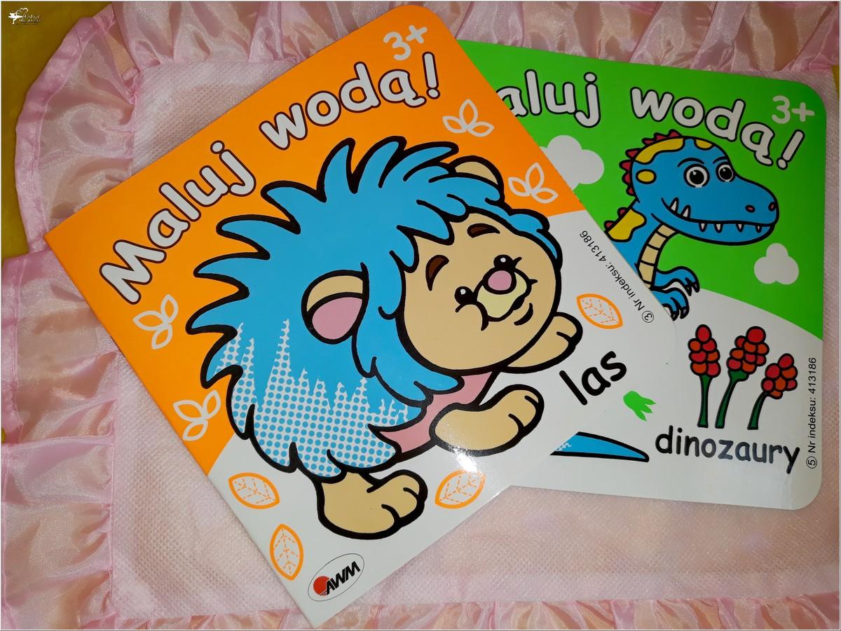 Maluj wodą! Seria dla dzieci. Wyd. AWM (1)