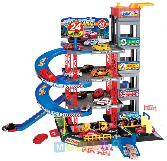 parking poziomowy zabawka