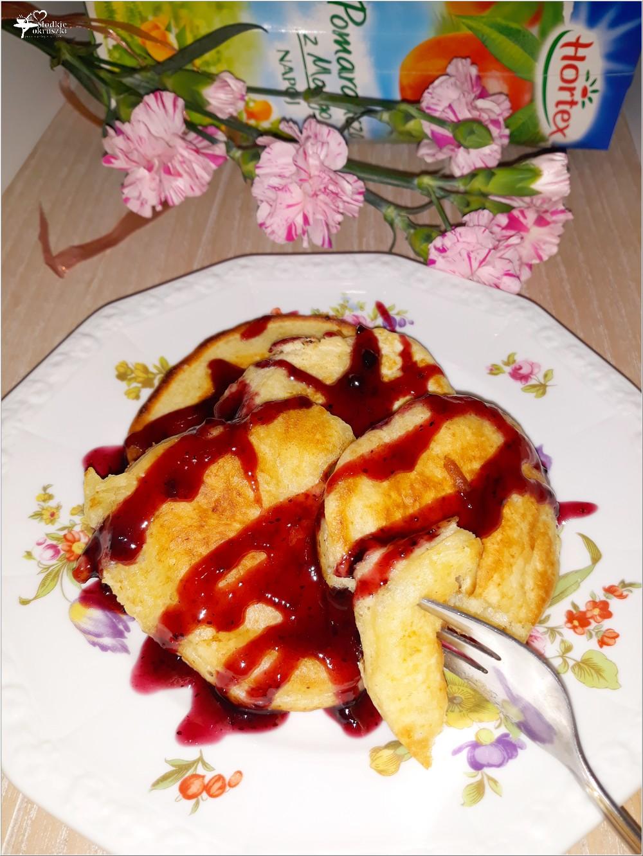 Bezmleczne puszyste placuszki (na bazie napoju owocowego) (2)