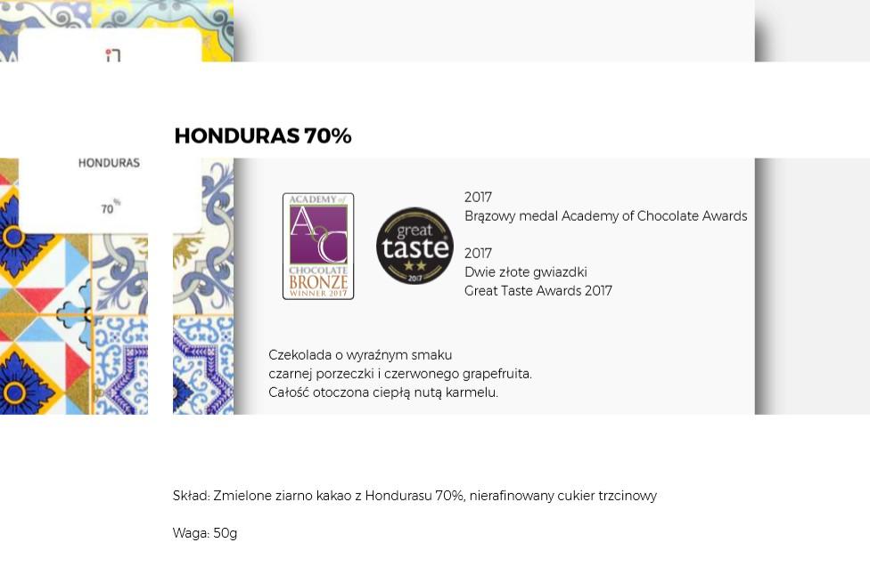 Czekolada Honduras