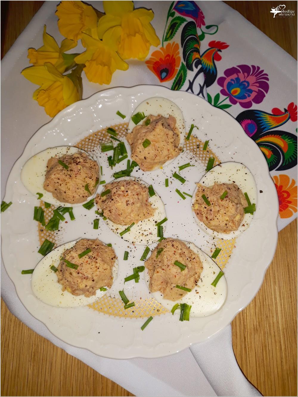 Jajka faszerowane tuńczykiem (z olejem rzepakowym, bez majonezu) (1)