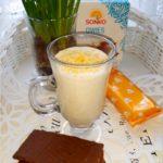 Kokosowo jaglany koktajl na drugie śniadanie