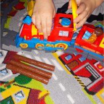Mała ciuchcia i Coctail bar – czyli słów kilka o klockach, które kochają moje dzieci (1)